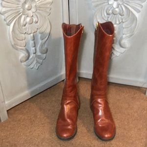 Shoes - Timeless Knee High Chestnut Brown Boots